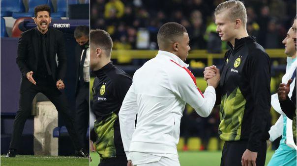 Kylian Mbappé y Erling Haaland son pretendidos por el Real Madrid
