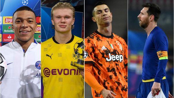 Mbappé y Haaland brillaron esta semana en la Champions League
