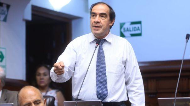 Yonhy Lescano, candidato a la presidencia por Acción Popular