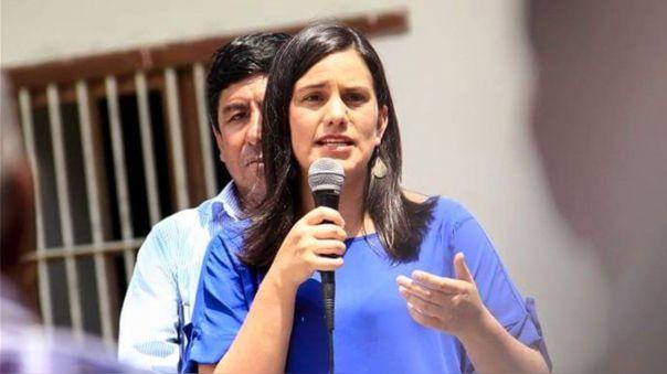 Verónika Mendoza postula por segunda vez a la presidencia de la República.