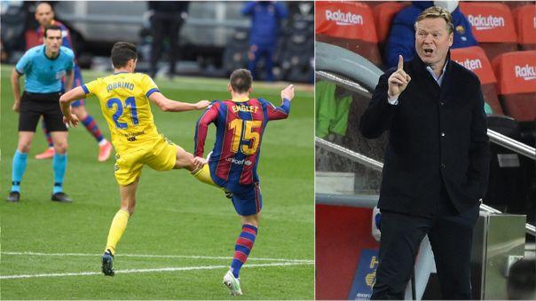 Lenglet lleva tres penales cometidos en la actual temporada con Barcelona