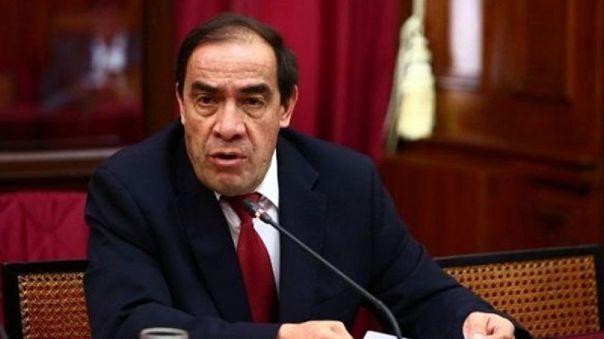 Yonhy Lescano, candidato presidencial por Acción Popular