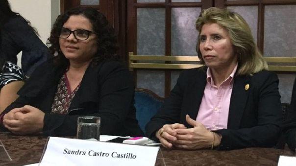 Fiscal de la Nación dispuso la remoción de las fiscales Sánchez y Castro del caso Cuellos Blancos del Puerto.