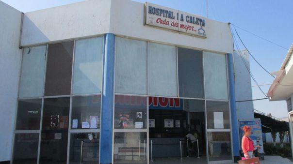 Hospital La Caleta de Chimbote donde se registró el robo de un ecógrafo.