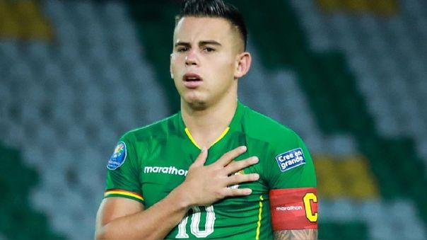Henry Vaca, integrante de la Selección Absoluta de Bolivia