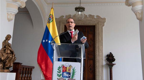 VENEZUELA-EU-ARREAZA-BRILHANTE