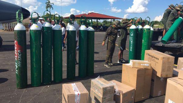 Gobierno realiza coordinaciones sobre la distribución de oxígeno en el país.