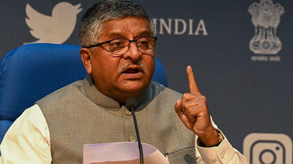 Ravi Shankar Prasad, ministro indio de Tecnologías de la información