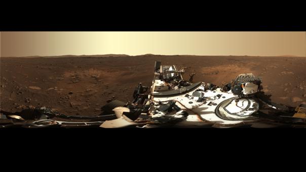 Perseverance manda abundante información desde su llegada a Marte.