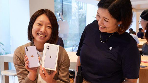 El iPhone 11 suma dos años de ventas extraordinarias.
