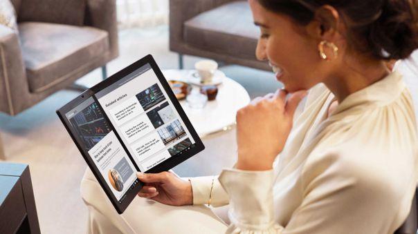 ThinkPad X1 Fold: Cinco características clave de la nueva laptop plegable de Lenovo