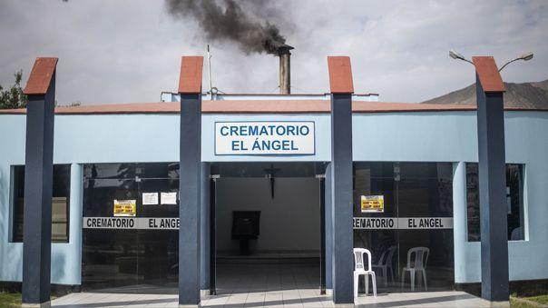 Crematorio del cementerio El Ángel