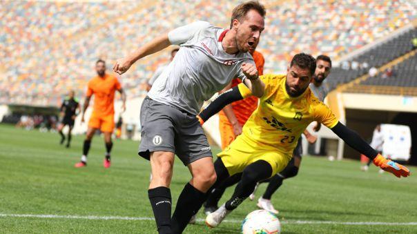 Hernán Novick convirtió el 1-0 de Universitario ante Ayacucho