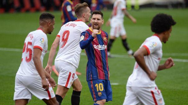 Barcelona y Sevilla chocan por la fecha 25 de LaLiga Santander