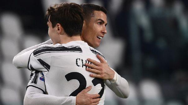 Cristiano Ronaldo anotó el 1-0 de Juventus ante Crotone