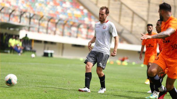 Hernán Novick anotó su primer gol en Universitario