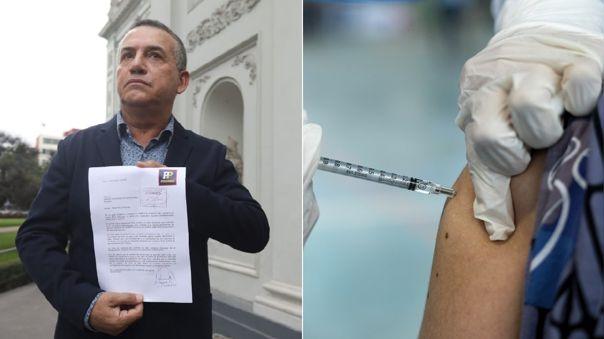 Daniel Urresti a favor de que privados vacunen a sus trabajadores.