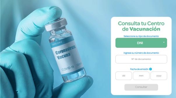 EsSalud trabaja en plataforma para consultar centro de vacunación.
