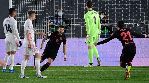 Gol de Real Sociedad
