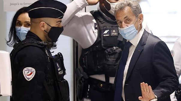 Expresidente francés Nicolas Sarkozy