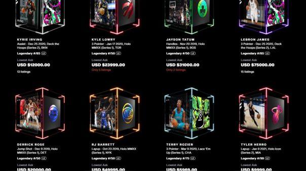 La NBA y su nuevo negocio: Top Shot.