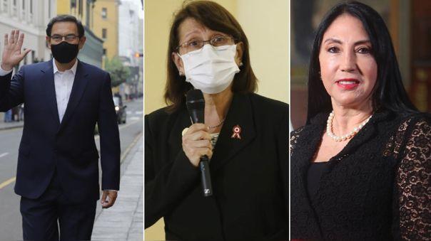 Martín Vizcarra y exministras son investigados en el Congreso.