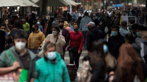La curva de contagios de los últimos siete días, según explicaron las autoridades, ha aumentado a nivel nacional.