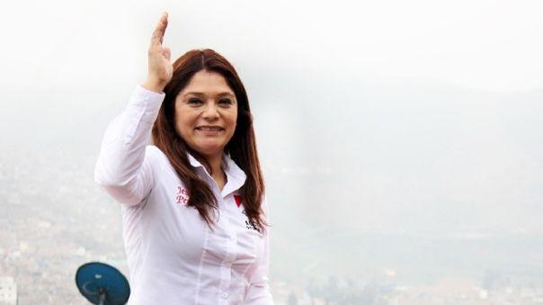 Jessica Pereyra, candidata al Congreso de la República por Acción Popular con el número 4.