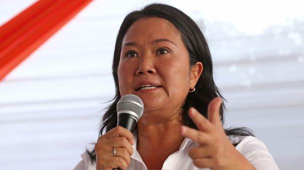 Keiko Fujimori intenta por tercera vez llegar a la Presidencia de la República.