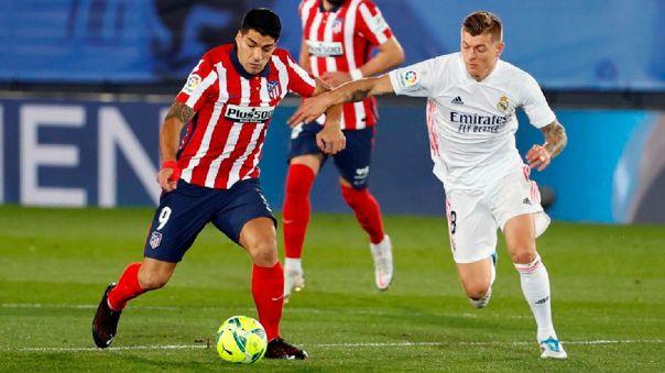 Luis Suárez registra 16 goles en LaLiga 2020-21