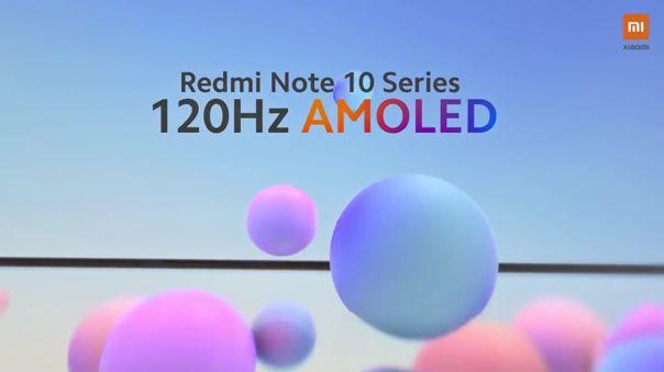 La pantalla con alto refresco llega a los Redmi Note 10.