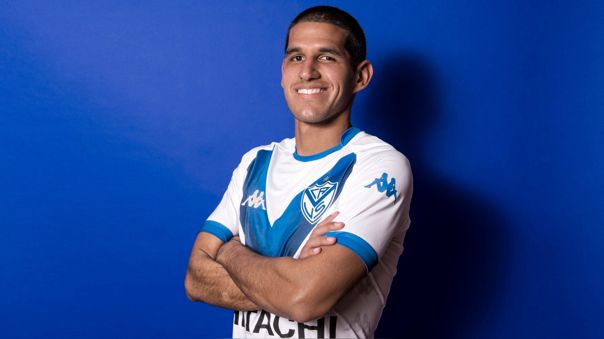 Luis Abram llegó en enero del 2018 a Vélez Sarfield