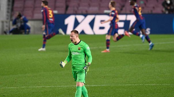 Barcelona venció 3-0 a Sevilla por 'semis' de la Copa del Rey