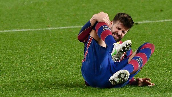 Piqué anotó el gol clave ante Sevilla en la Copa del Rey