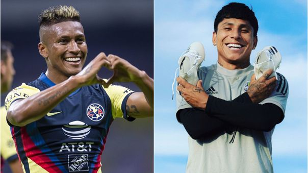 Aquino y Ruidíaz son compañeros en la Selección Peruana