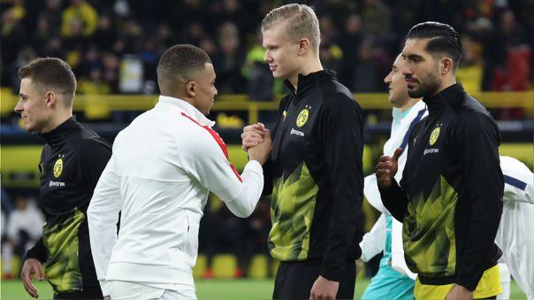 Mbappé y Haaland buscan ganar su primera Champions League