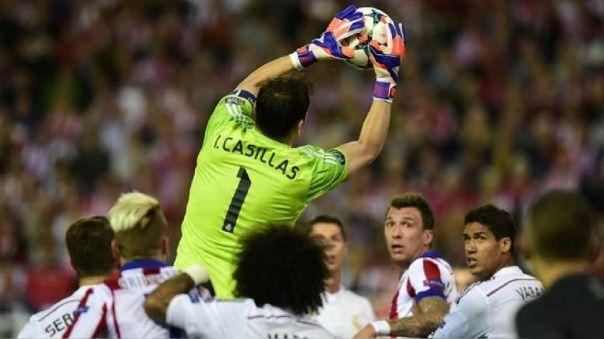Iker Casillas jugó hasta el 2015 en el Real Madrid