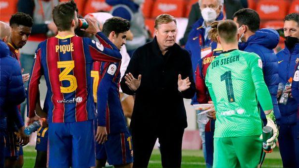 Barcelona está detrás del Atlético en LaLiga 2020-21