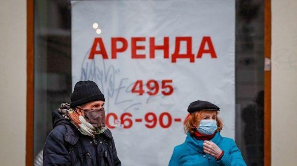 Más de 37.000 rusos murieron en enero con coronavirus