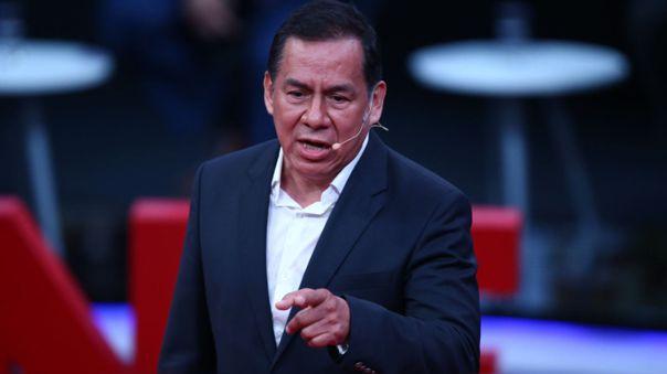 José Vega, candidato presidencial de Unión por el Perú