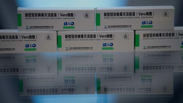 INS pide información sobre efectividad de la vacuna Sinopharm.