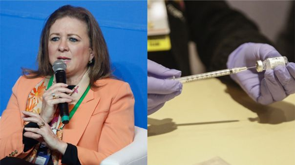 María Isabel León se reunió con Francisco Sagasti para conversar sobre el privado y las vacunas.