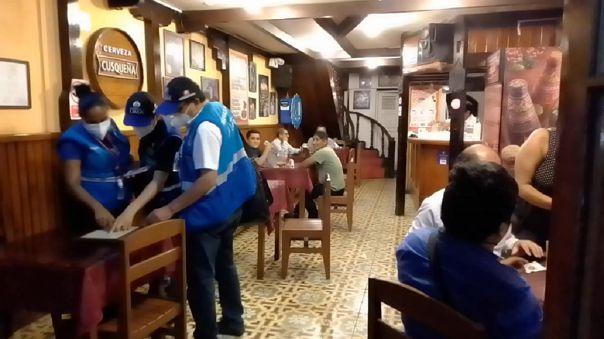 Intervención en Cercado de Lima