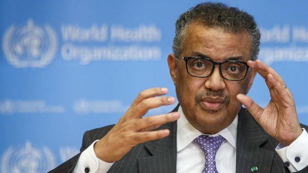 Director general de la Organización Mundial de la Salud (OMS), Tedros Adhanom Ghebreyesus.