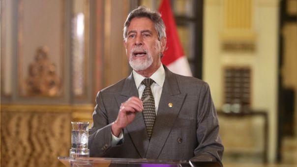 Francisco Sagasti, presidente de la República.
