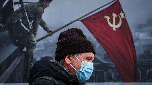 Rusia registra 4,3 millones de casos COVID-19.