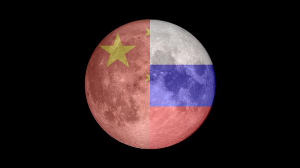 Rusia y China firman acuerdo para la construcción de una base lunar