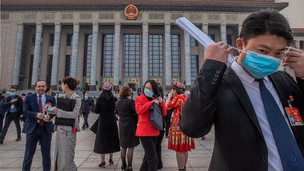 CHINA GOVERNMENT PARLIAMENT NPC
