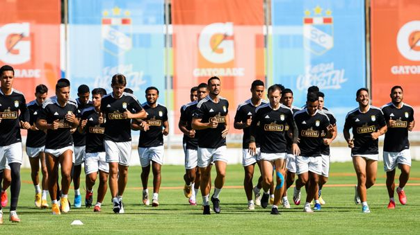Sporting Cristal: el equipo que prepara para el debut en la Liga 1 ante Binacional