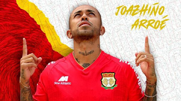 Joazhiño Arroé es nuevo jugador de Sport Huancayo
